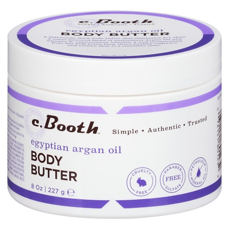 c. Booth Egyptian Argan Oil Body Butter