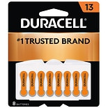 Duracell Hearing Aid Zinc Air Batteries 13
