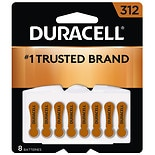 Duracell Hearing Aid Zinc Air Batteries Size 312
