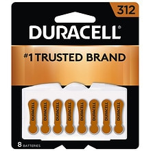 Duracell Hearing Aid Size 312 Batteries