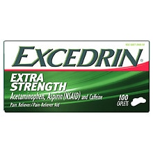 Excedrin Extra Strength Caplets, Pain Reliever