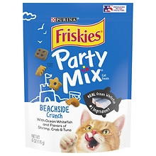 Friskies Party Mix Beachside Crunch: Shrimp Crab & Tuna