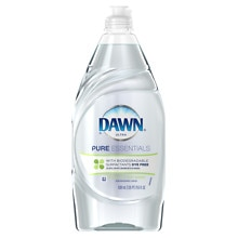 Dawn Ultra Pure Essentials Dishwashing Liquid Sparkling Mist