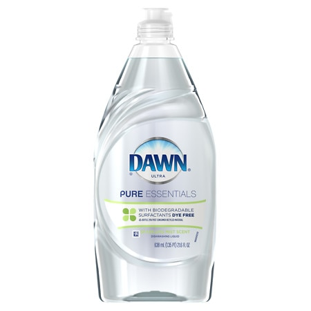 Dawn Pure Essentials Dishwashing Liquid Sparkling Mist