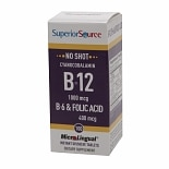 Superior Source No Shot B6/B12/Folic Acid , Disolve Tablets
