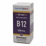 Superior Source No Shot Methylcobalamin B12 5000mcg, Disolve Tablets