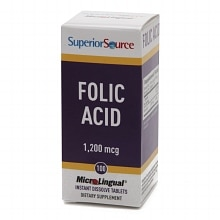 Folic Acid 1200mcg - Extra Strength, Disolve Tablets