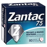 Zantac 75 75 Acid Reducer Tablets