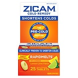 Zicam Cold Remedy RapidMelts Quick Dissolve Tablets with Echinacea lemon-lime flavor