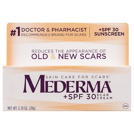 Scar Cream + SPF 30 by Mederma