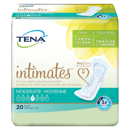 Tena Serenity Moderate Pads Regular