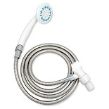 3 Setting Shower Spray with Ultra-Long Stainless Steel Hose
