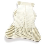 Non-Slip Bath Mat with Invigorating Massage Zones Large