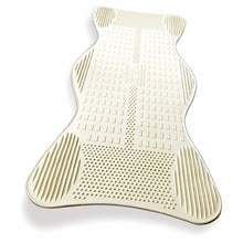 Non-Slip Bath Mat with Invigorating Massage ZonesLarge