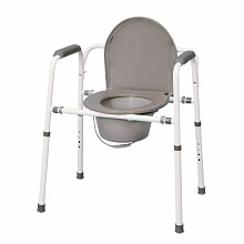 MedPro Versatile Homecare Commode Chair with Adjustable Height