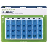 EZY Dose One-Day-At-A-Time Weekly Medication Organizer Tray