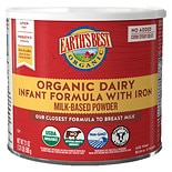Earth's Best Organic Milk-Based Infant Formula Powder with Iron
