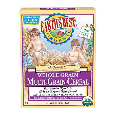 Earth's Best Organic Mixed Grain Cereal Original