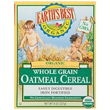 Organic Whole Grain Oatmeal Cereal