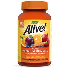 Nature's Way Alive! Adult Multivitamin Gummies