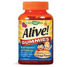 Nature's Way Alive! Children's Multivitamin, Gummies