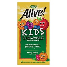 Alive! Children's Multivitamin Chewables