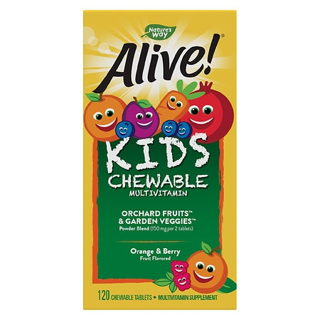Nature's Way Alive! Children's Multivitamin Chewables