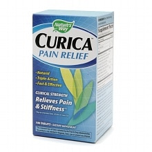 Nature's Way Curica Pain Relief, Tablets