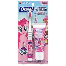 My Little Pony Training Toothpaste with Toothbrush Pinky Fruity