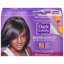 Dark and Lovely Healthy-Gloss Shea Butter Relaxer, Super