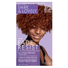 Dark and Lovely Fade-Resistant Rich Conditioning Hair Color 376 Red Hot Rhythm