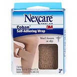 Nexcare Coban Self-Adhering Wrap, 3 in. 3-Inch