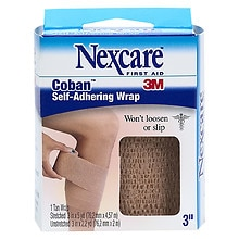 Coban Self-Adhering Wrap, 3 in., 3-Inch
