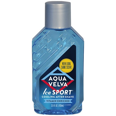 Aqua Velva Ice Sport, Cooling After Shave