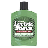 Williams Lectric Shave Lectric Shave Original Electric Razor Pre-Shave with Soothing Green Tea ComplexOriginal