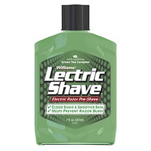 Lectric Shave Original Electric Razor Pre-Shave with Soothing Green Tea Complex Original, Original