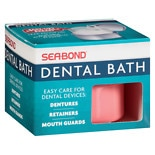 Sea-Bond Denture Bath