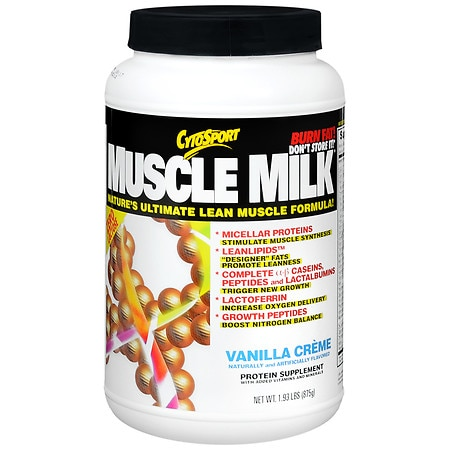 CytoSport Muscle Milk Protein Powder Vanilla