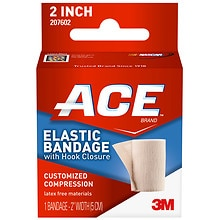 Ace Elastic Bandage with Hook Closure, Model 207602