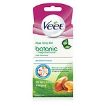 Veet Ready to Use Wax Strips Hair Remover for Body, Bikini & Face