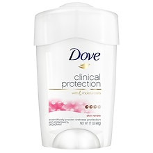 Dove Clinical Protection Anti-Perspirant Deodorant Skin Renew