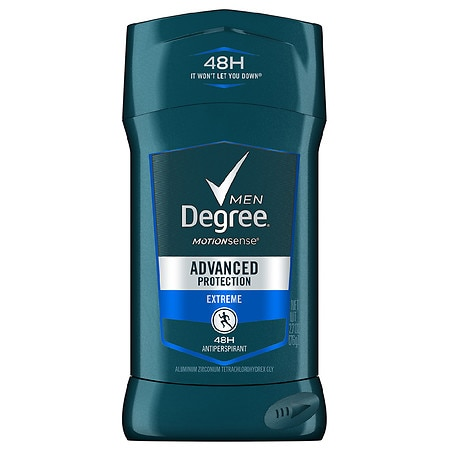 Degree Men Adrenaline Series, Antiperspirant & Deodorant Solid Extreme