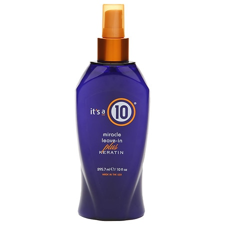 it's a 10 miracle leave-in plus keratin