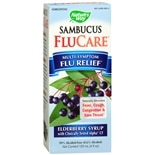 Nature's Way Multi-Symptom Flu Relief Elderberry Syrup