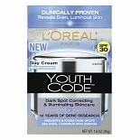 L'Oreal Youth Code Dark Spot Correcting Day Cream Moisturizer