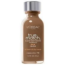 L'Oreal Paris True Match Super-Blendable Liquid Makeup Cappuccino