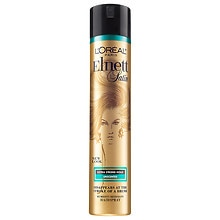 L'Oreal Paris Elnett Satin Hairspray Extra Strong Hold, Unscented