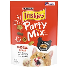 Friskies Party Mix Original Crunch:  Chicker Liver & Turkey