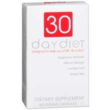 30 Day Diet Dietary Supplement Capsules
