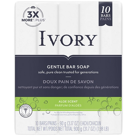 Ivory Bar Soap Aloe,Personal Size